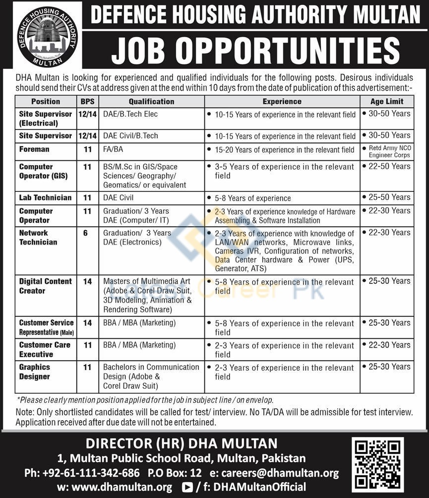 Defence-Housing-Authority-DHA-Multan-Jobs-26-July-2020