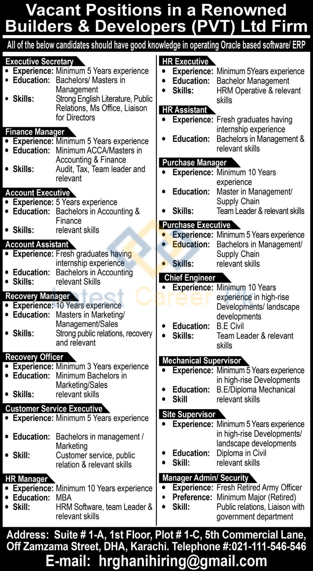 Ghani-Builders-and-Developers-Pvt-Limited-Karachi-Jobs-20-July-2020
